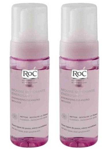 Roc Roc Energising Mousse Enerji Veren Temizleme Köpüğü 150 Ml X 2 A Renksiz